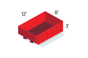 10 Yard Dumpster - $325 - 1 ton