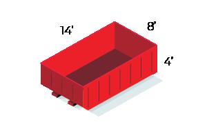 15 Yard Dumpster - $420 - 2 ton