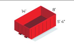 20 Yard Dumpster - $520 - 3 ton
